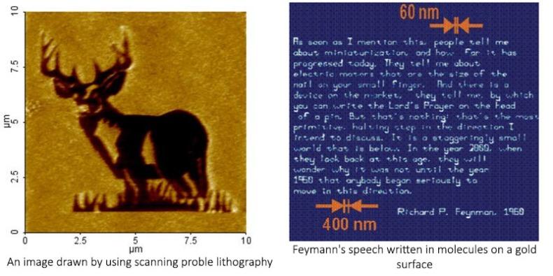 Scanning probe lithography in nano fabrication, ninithi