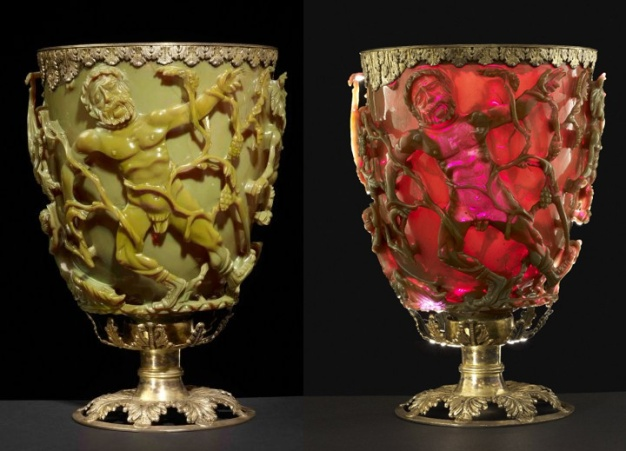 Lycurgus Cup with nanoparticles